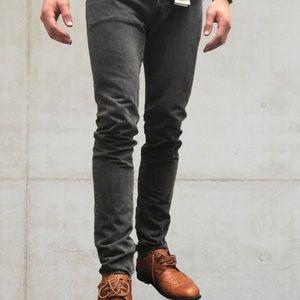 Levi's 501 Black skinny slim jeans